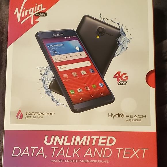 VIRGIN mobile hydro reach phone